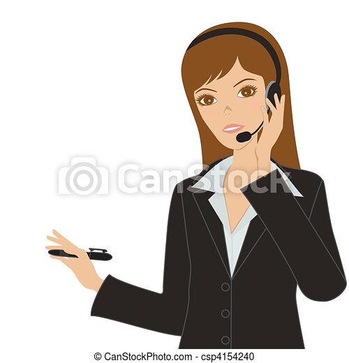 Business women  - csp4154240