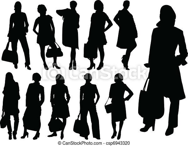 Illustration Of Business Women