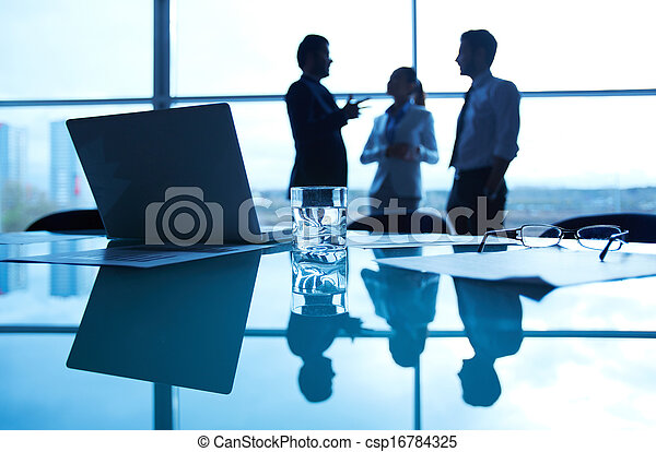 Business workplace - csp16784325