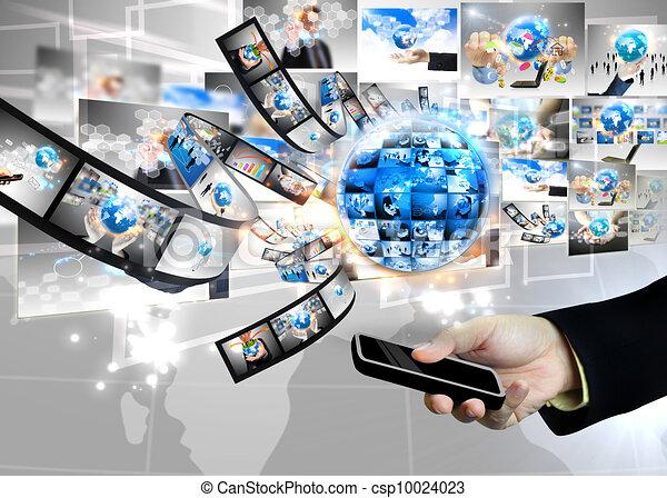 business world - csp10024023