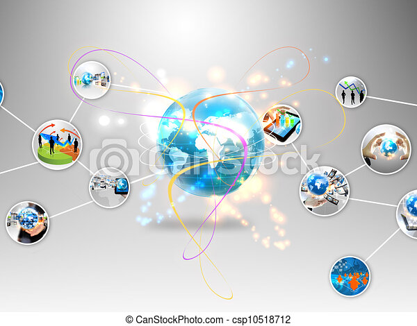 business world  - csp10518712