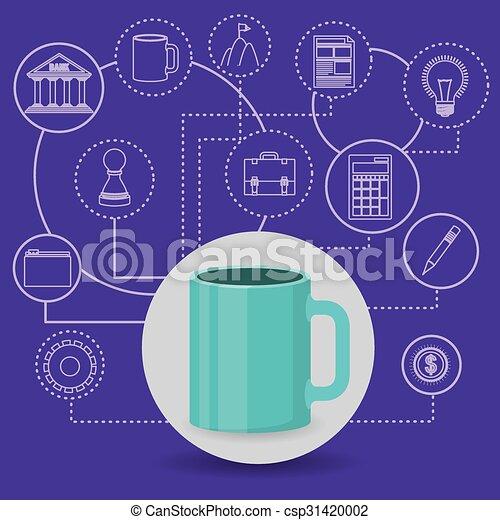 business world  - csp31420002