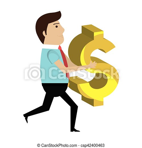 businessman character avatar with money icon vector clip art rh canstockphoto com 3d businessman clipart businessman clipart free download