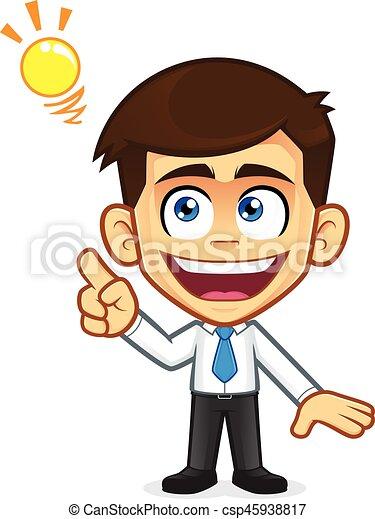 businessman creative idea clipart picture of a businessman cartoon rh canstockphoto com businessman clipart free businessman clipart free