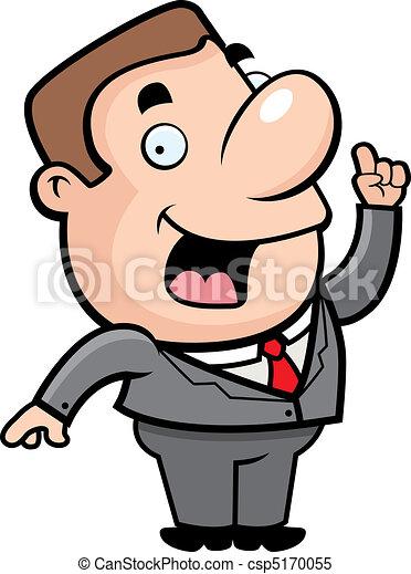Businessman Idea - csp5170055