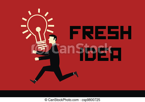 Businessman Idea - csp9800725