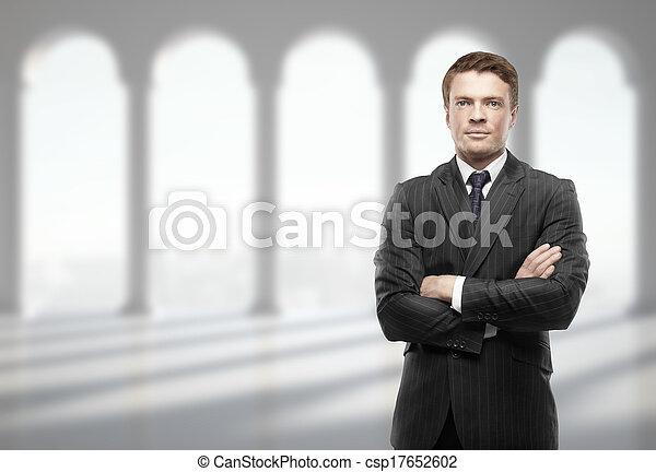 businessman in office - csp17652602