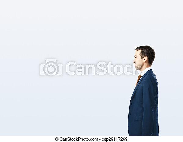businessman in suit - csp29117269