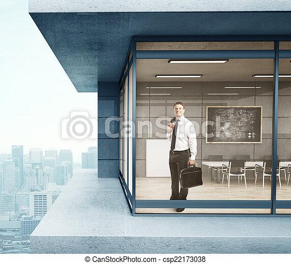 businessman in suit - csp22173038
