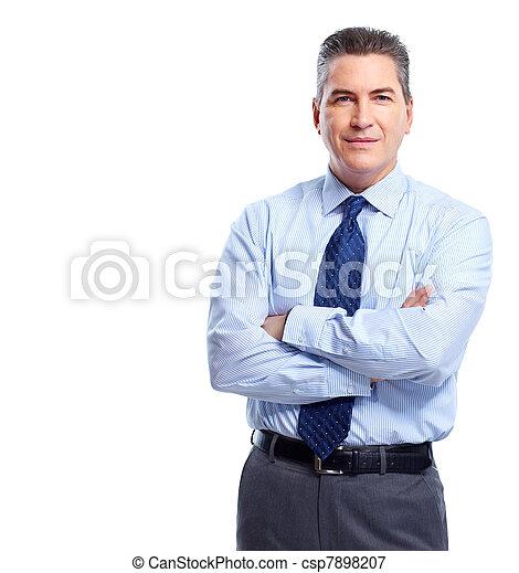 businessman. - csp7898207