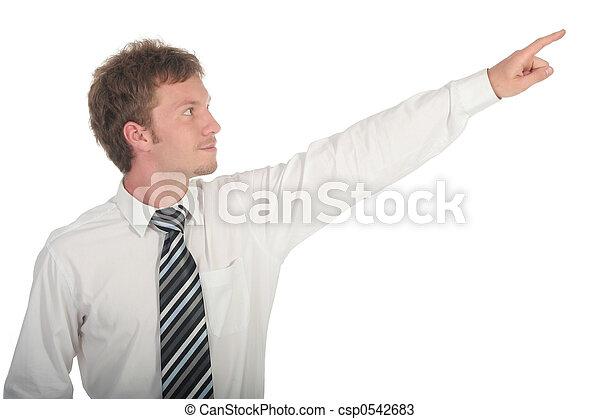 Businessman Pointing - csp0542683