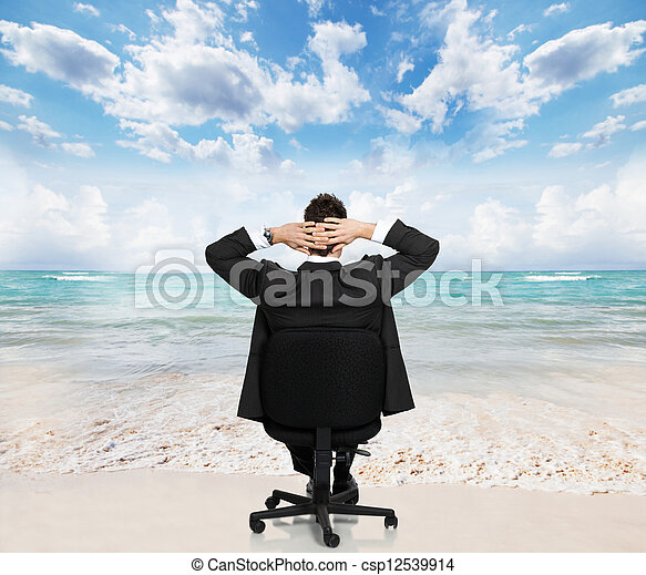 businessman., relaxante - csp12539914