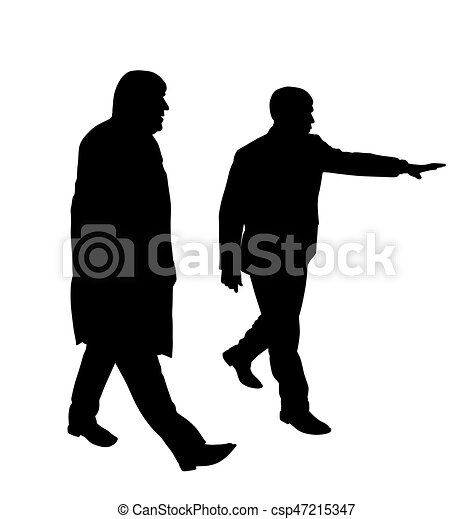 Businessman showing new project to his colleague - csp47215347