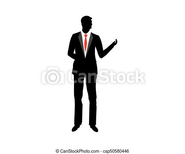 businessman silhouette icon vector illustration design