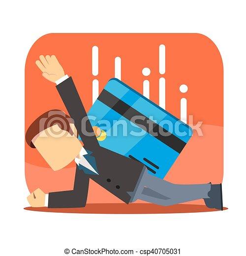 businessman surpressed - csp40705031