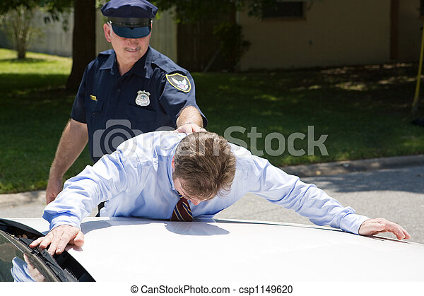 Businessman Under Arrest - csp1149620