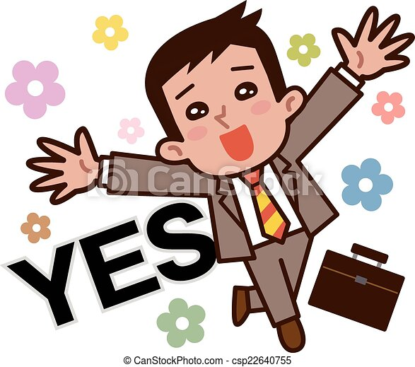 businessmen rejoice vector illustration clipart vector search rh canstockphoto com Rejoice Clip Art Lettering Love Rejoices Clip Art