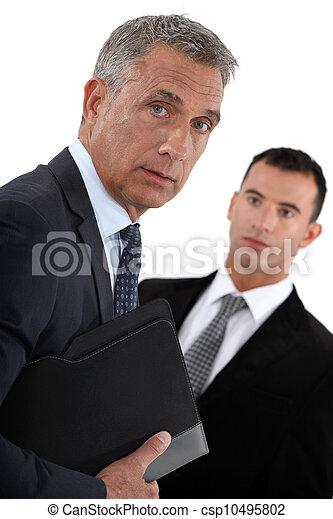 Businessmen - csp10495802