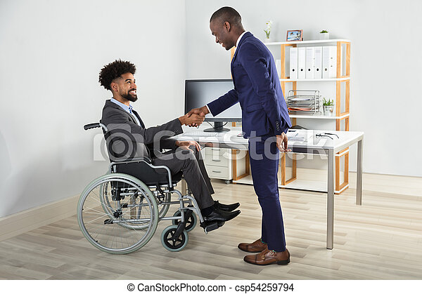 Businesspeople Shaking Hands - csp54259794