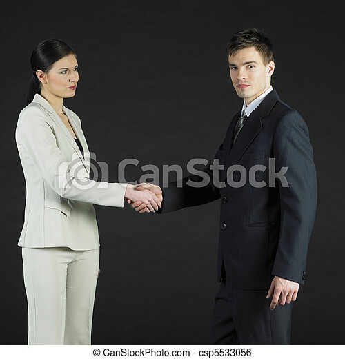 businesspeople - csp5533056