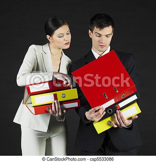 businesspeople - csp5533086