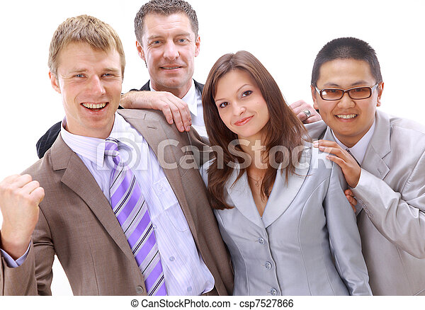 businesspeople - csp7527866
