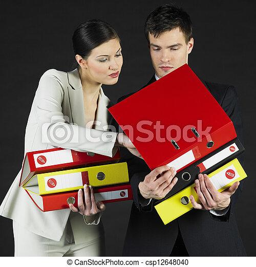 businesspeople - csp12648040