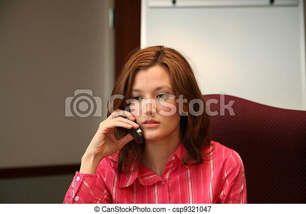 Businesswoman on Phone - csp9321047