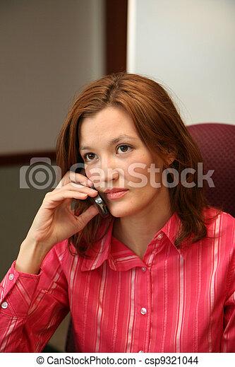 Businesswoman on Phone - csp9321044