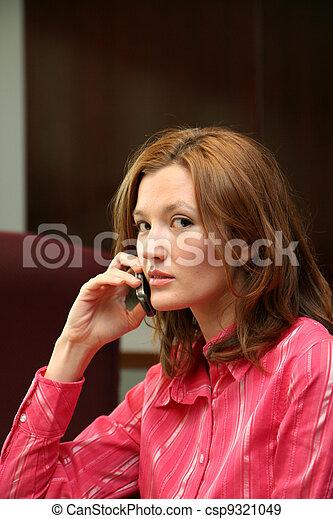 Businesswoman on Phone - csp9321049