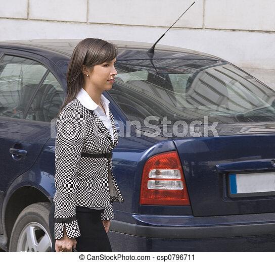 Businesswoman - csp0796711