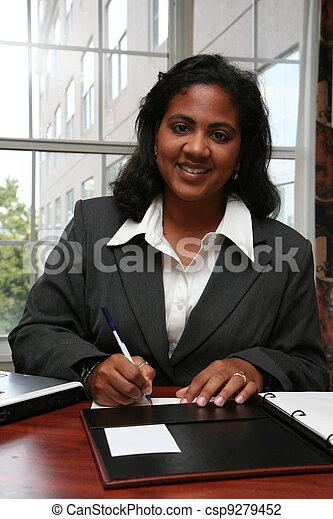 Businesswoman - csp9279452
