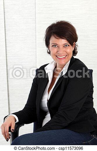 Businesswoman - csp11573096