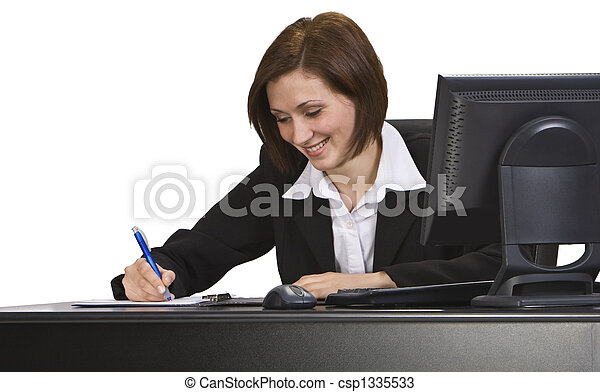 Businesswoman - csp1335533