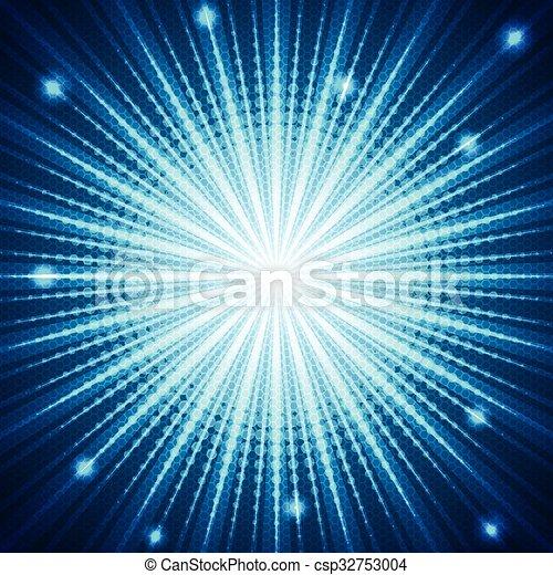 Trasfondo de media luna azul - csp32753004