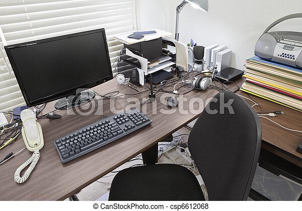 Busy Desk - csp6612068
