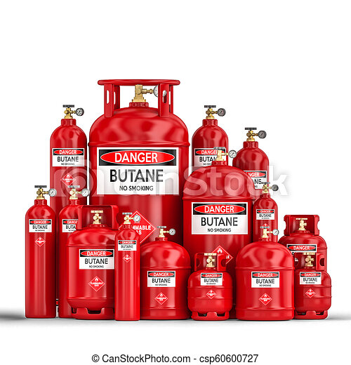 butane cylinder container - csp60600727