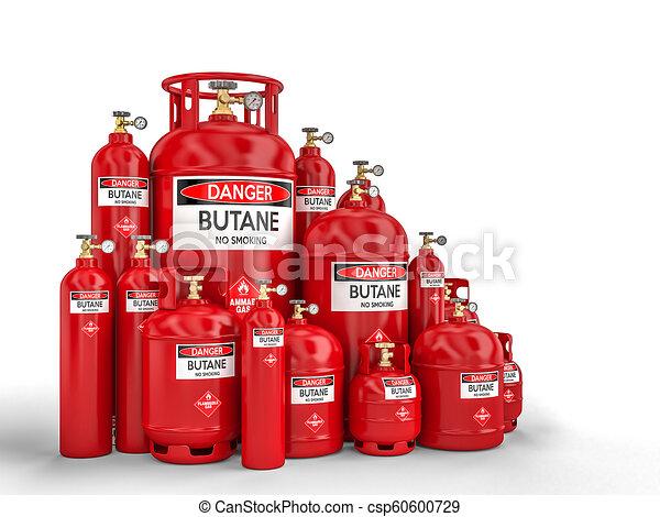 butane cylinder container - csp60600729