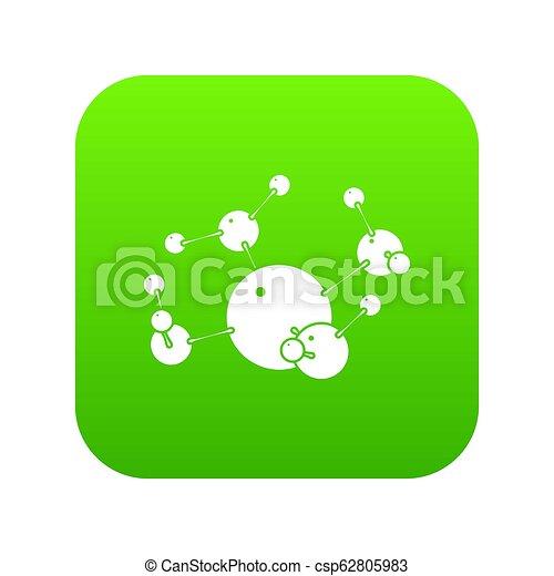 Butane icon green - csp62805983
