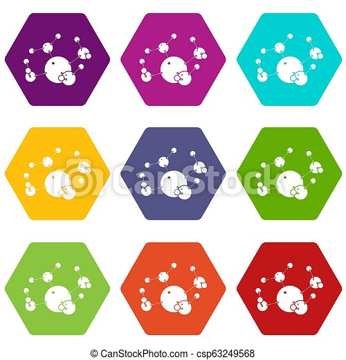 Butane icons set 9 - csp63249568