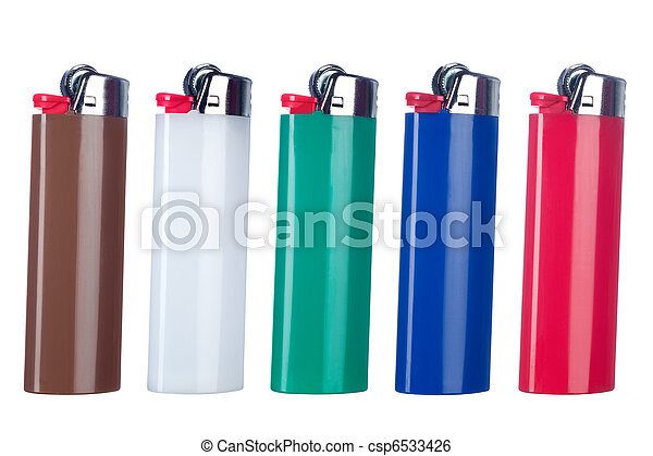 Butane lighters - csp6533426
