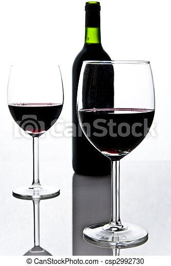 Butelka Lampki Wino