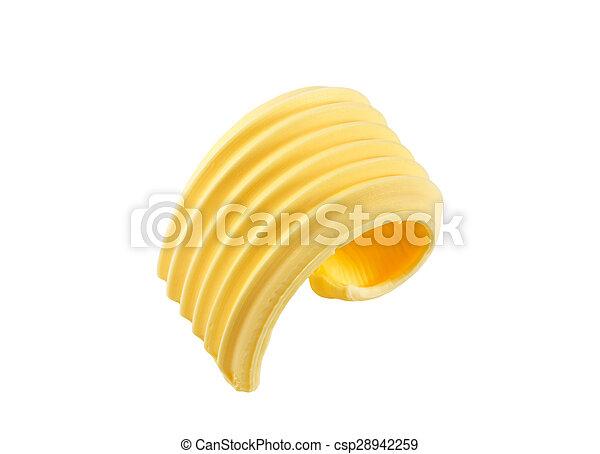 Butter curl - csp28942259