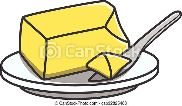butter doodle illustration pancake clip art for coloring pancake clip art free download