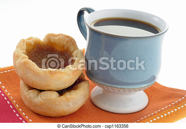 Butter Tarts and Coffee - csp1163356