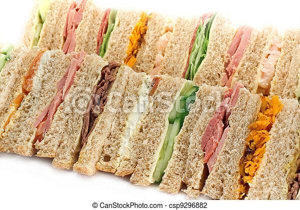 Buffet Sandwich-Platte - csp9296882