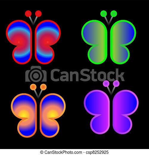 Butterflies  - csp8252925