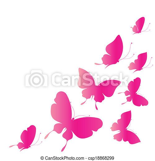 butterflies design - csp18868299