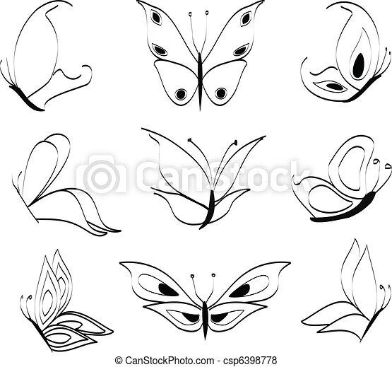 Butterflies - csp6398778