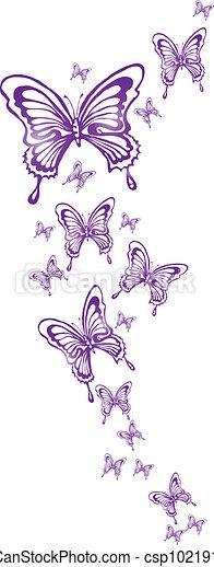 butterflies - csp10219135
